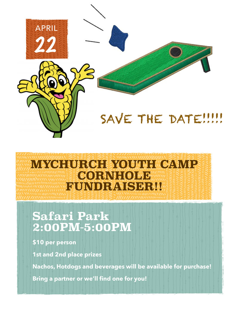 Cornhole Tournament - Youth Camp Fundraiser