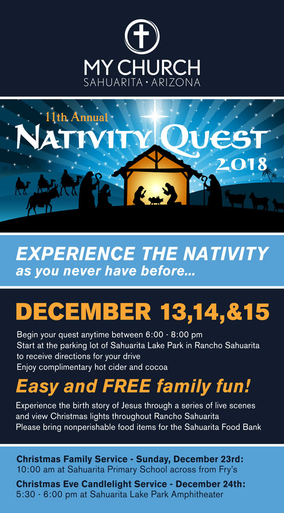 11th Annual Nativity Quest